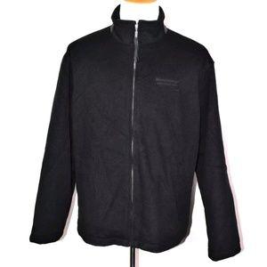 Golden Bear Mens Black Varsity Jacket